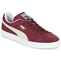Scarpe Sneakers basse Puma SUEDE CLASSIC Rosso / Bianco