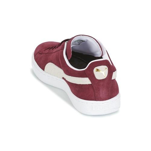 Puma Suede 6400 Classic Scarpe Bordeaux Consegna Basse Gratuita Sneakers byvY7gf6