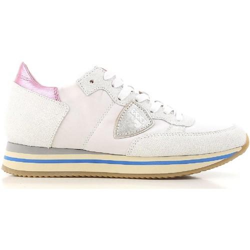 Scarpe Donna Sneakers basse Philippe Model Sneakers basse  da donna in pelle bianco