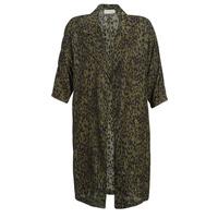 Abbigliamento Donna Trench See U Soon GARAGA Kaki / Nero