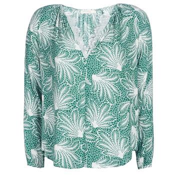 Abbigliamento Donna Top / Blusa See U Soon GARAGAVE Verde / Bianco