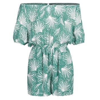 Abbigliamento Donna Tuta jumpsuit / Salopette See U Soon GARAGABE Verde / Bianco