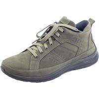 Scarpe Uomo Sneakers basse Zen Scarponcini  per uomo in nabuk grigio e tortora Topo Caribu