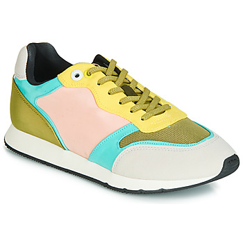 Scarpe Donna Sneakers basse MTNG HANNA Rosa / Giallo / Turquoise