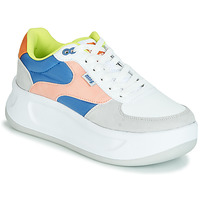 Scarpe Donna Sneakers basse MTNG WAL Blu / Rosa / Giallo