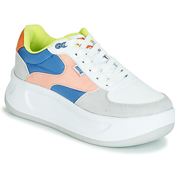 Scarpe Donna Sneakers basse MTNG WAL Blu   Rosa   Giallo 0d1f392b348