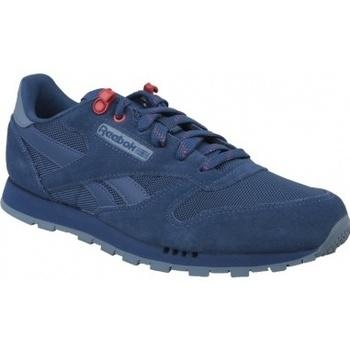 Scarpe Unisex bambino Multisport Reebok Sport Classic Leather blu