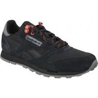 Scarpe Unisex bambino Multisport Reebok Sport Classic Leather nero