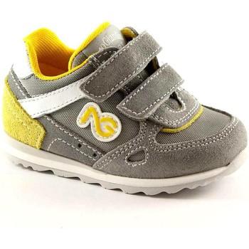 Pantofole bambini Nero Giardini  JUNIOR 23482 grigia scarpe bambino sneaker strappi