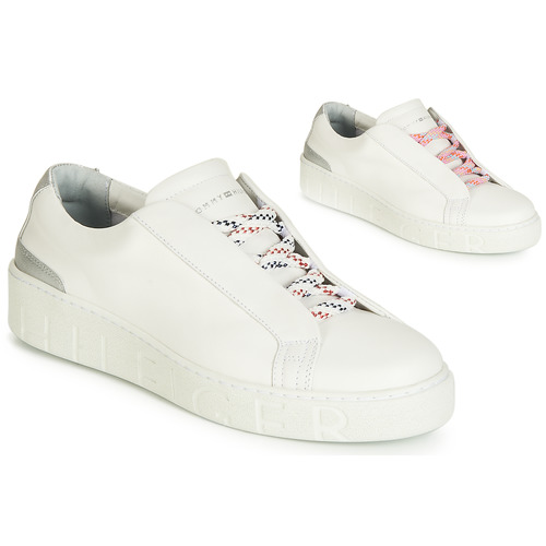 Scarpe Donna Sneakers basse Tommy Hilfiger SANDIE 4A Bianco