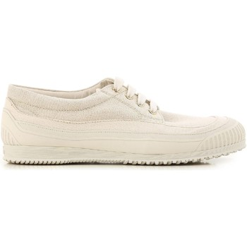 Scarpe Donna Sneakers basse Hogan Sneakers  donna in in tessuto beige chiaro oro