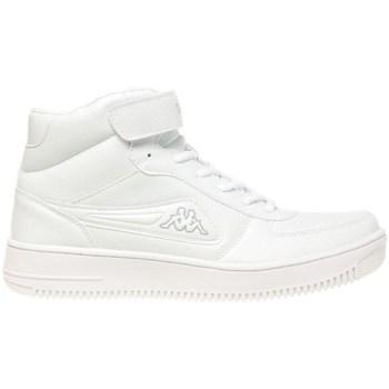 Scarpe Uomo Sneakers alte Kappa Bash Mid Bianco