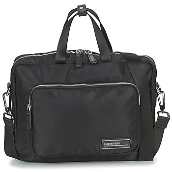 Borse Uomo Porta Documenti Calvin Klein Jeans PRIMARY 1 GUSSET LAPTOP BAG Nero