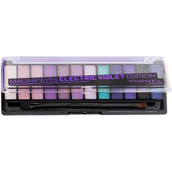 Bellezza Donna Cofanetto ombretti Rimmel London Magnif'Eyes Palette 008-electric Violet 1 u