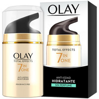 Bellezza Donna Antietà & Antirughe Olay Total Effects Anti-edad Hidratante Sin Perfume  50 ml