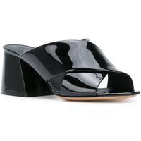 Scarpe Donna Sandali Maison Margiela Sandali tacco alto  in vernice nero