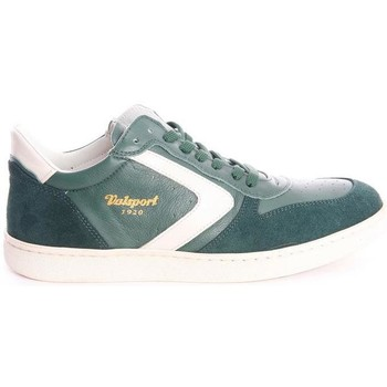 Scarpe Uomo Sneakers basse Valsport SNEAKERS IN PELLE VERDE Green