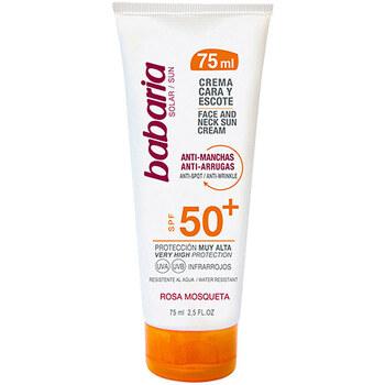 Bellezza Protezione solari Babaria Solar Cara&escote Fluido Anti-manchas Spf50+  75 ml