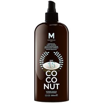 Bellezza Protezione solare Mediterraneo Sun Coconut Suntan Oil Dark Tanning Spf15  200 ml