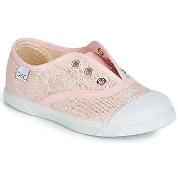 Scarpe Bambina Sneakers basse Citrouille et Compagnie JANOLIRE Rosa / Metallizzato