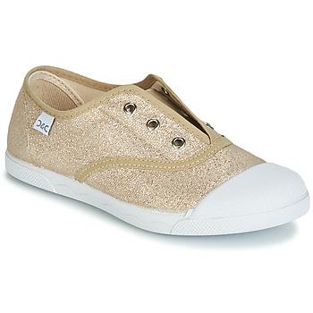 Scarpe Bambina Sneakers basse Citrouille et Compagnie RIVIALELLE Oro