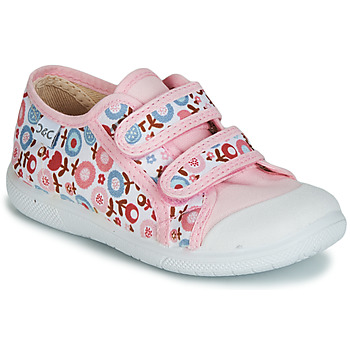 Scarpe Bambina Sneakers basse Citrouille et Compagnie JORIPALE Rosa / Rosso