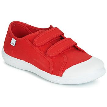 Scarpe Unisex bambino Sneakers basse Citrouille et Compagnie JODIPADE Rosso