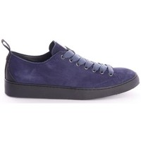 Scarpe Uomo Sneakers basse Panchic SNEAKERS IN CAMOSCIO BLU Blue