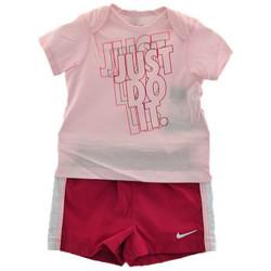 Abbigliamento Bambino Completo Nike Completino Sportivo Tute rosa