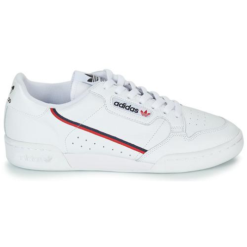 80 Basse 9995 Adidas Consegna Scarpe Originals Bianco Continental Sneakers Gratuita PZlwkXiuOT