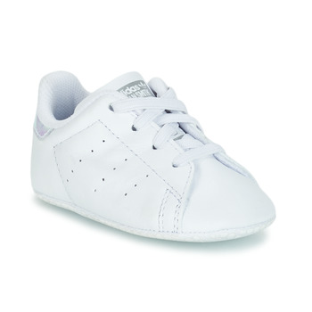 Scarpe Bambina Sneakers basse adidas Originals STAN SMITH CRIB Bianco