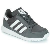 Scarpe Unisex bambino Sneakers basse adidas Originals OREGON Grigio