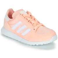 Scarpe Bambina Sneakers basse adidas Originals OREGON Rosa