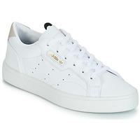 Scarpe Donna Sneakers basse adidas Originals adidas SLEEK W Bianco