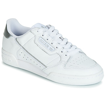Scarpe Donna Sneakers basse adidas Originals CONTINENTAL 80s Bianco / Argento
