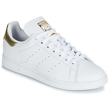 low priced f59f9 b3b10 Scarpe Donna Sneakers basse adidas Originals STAN SMITH W Bianco   Oro