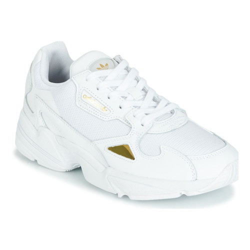adidas falcon bianco oro