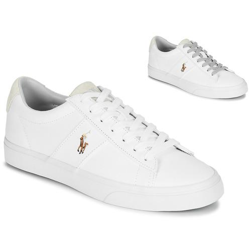 sneakers basse polo ralph lauren uomo