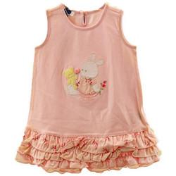 Abbigliamento Bambina Top / T-shirt senza maniche Chicco Vestito Neonati rosa