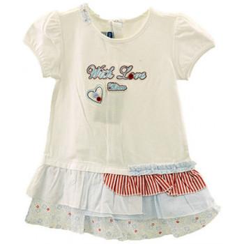 Abbigliamento Bambina Abiti corti Chicco Vestito Neonati bianco
