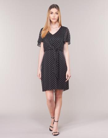 Lauren Ralph Lauren POLKA DOT-SHORT SLEEVE-DAY DRESS