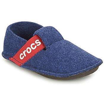 Scarpe Unisex bambino Pantofole Crocs CLASSIC SLIPPER K Blu