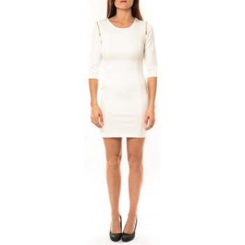Abbigliamento Donna Abiti corti Vera & Lucy Robe Lucce LC-0228 Blanc Bianco