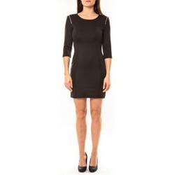 Abbigliamento Donna Abiti corti Vera & Lucy Robe Lucce LC-0228 Noir Nero