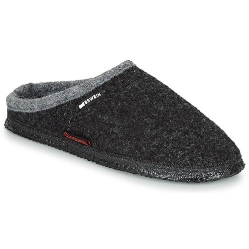 Giesswein DANNHEIM Antracite  Scarpe Pantofole Uomo 49,80