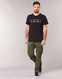 Abbigliamento Uomo Pantalone Cargo G-Star Raw ROVIC ZIP 3D STRAIGHT TAPERED Kaki