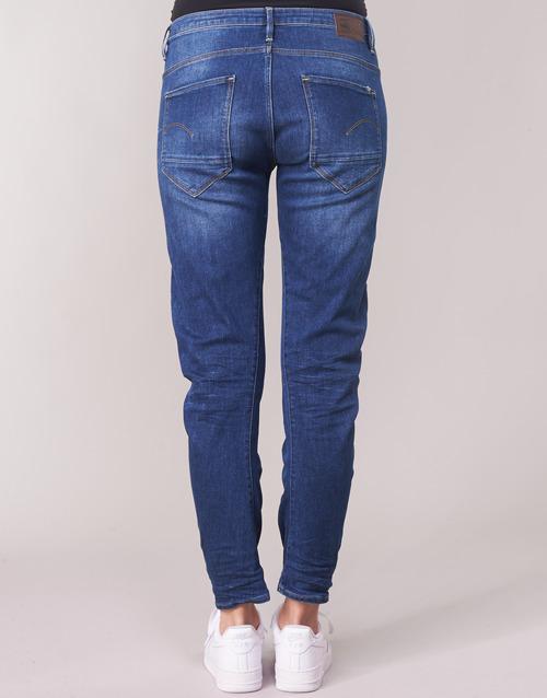 Raw 3d Arc Consegna star Abbigliamento Gratuita 6500 BluMedium Jeans Low Boyfriend G Donna oedxrBCW