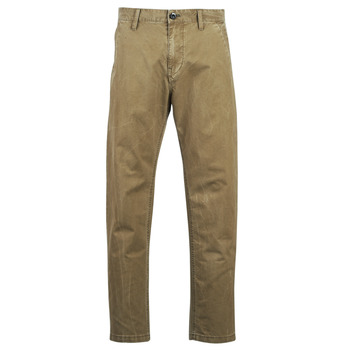 Abbigliamento Uomo Chino G-Star Raw BRONSON STRAIGHT TAPERED CHINO Beige