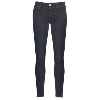 Abbigliamento Donna Jeans skynny G-Star Raw LYNN ZIP MID SKINNY ANKLE Blu / Nero