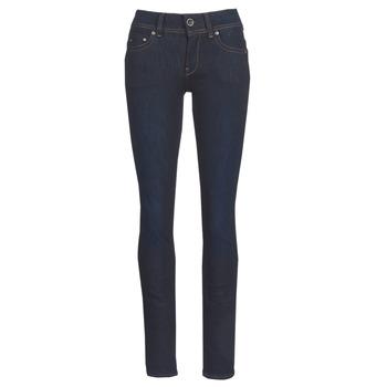 Abbigliamento Donna Jeans dritti G-Star Raw MIDGE SADDLE MID STRAIGHT Blu / Nero